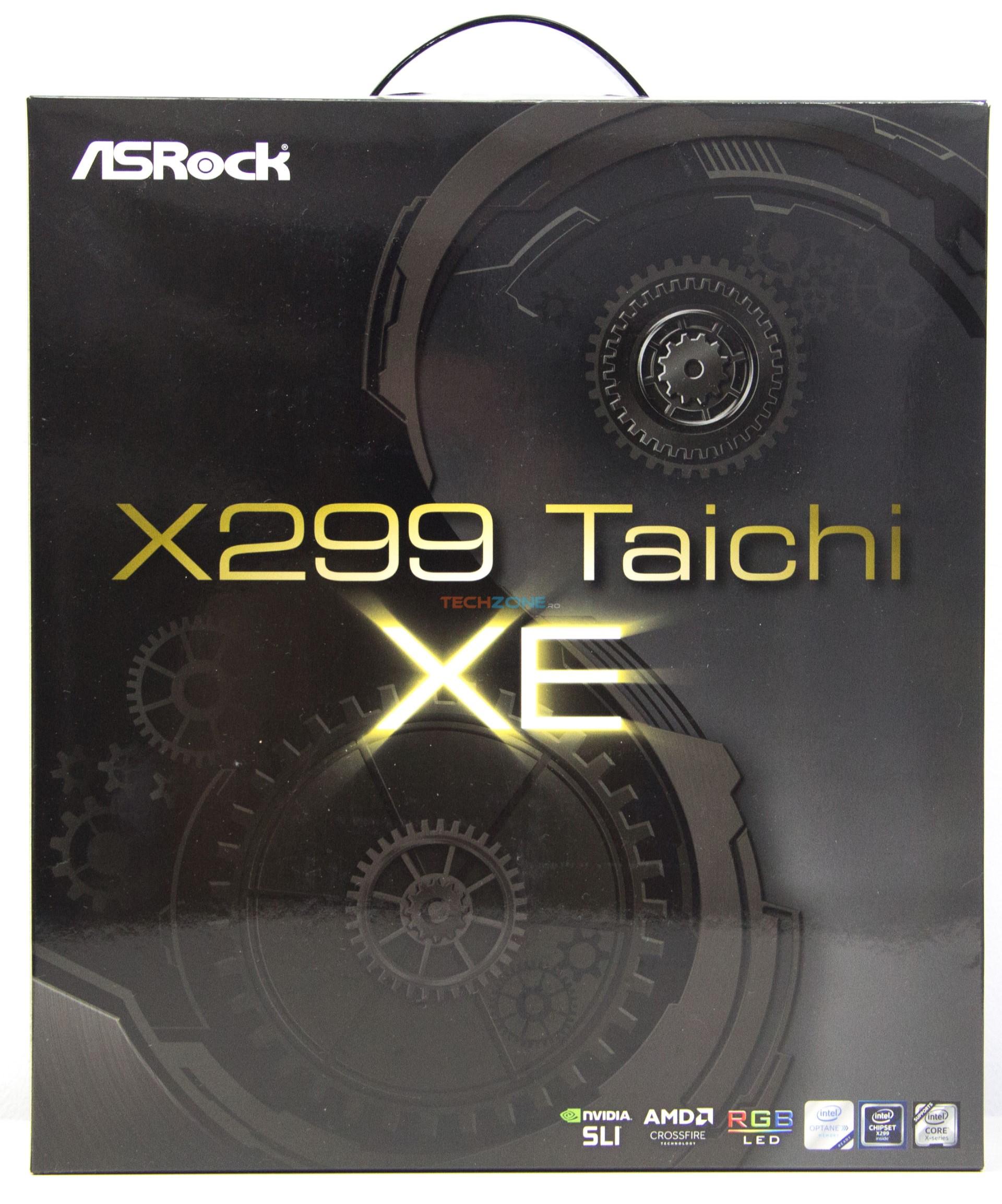 ASRock X299 Taichi XE box