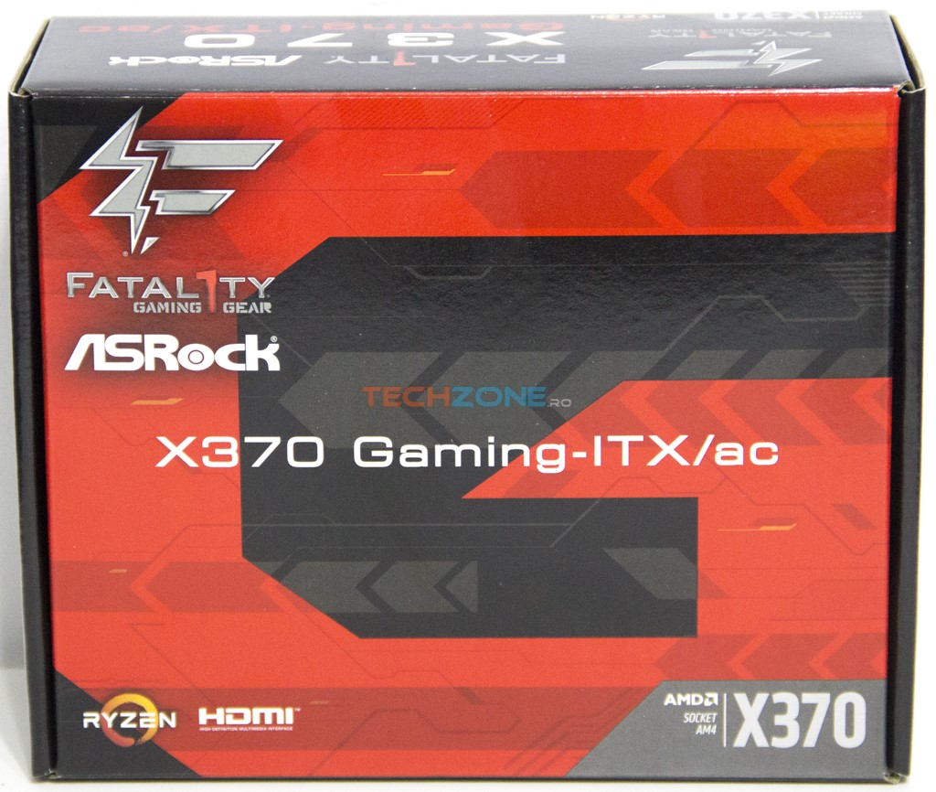 ASRock X370 Gaming ITX set
