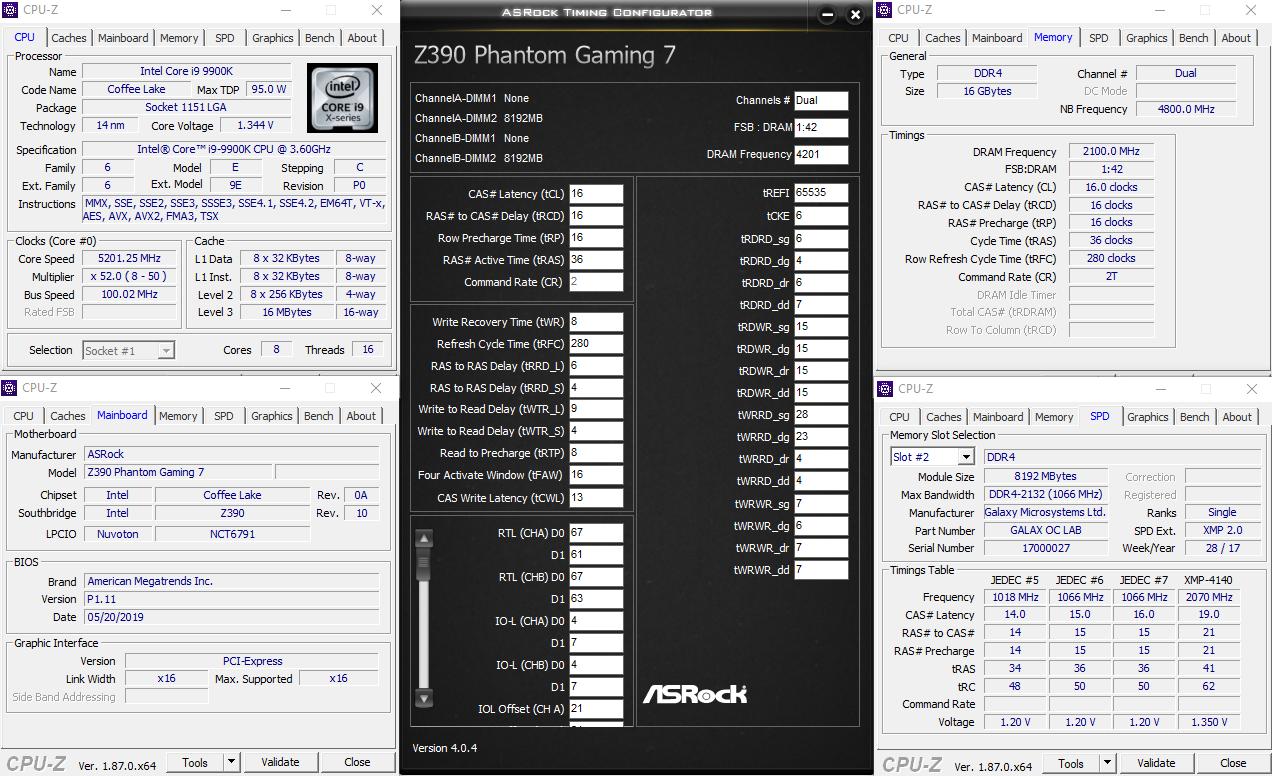 ASRock Z390 Phantom Gaming7 OC
