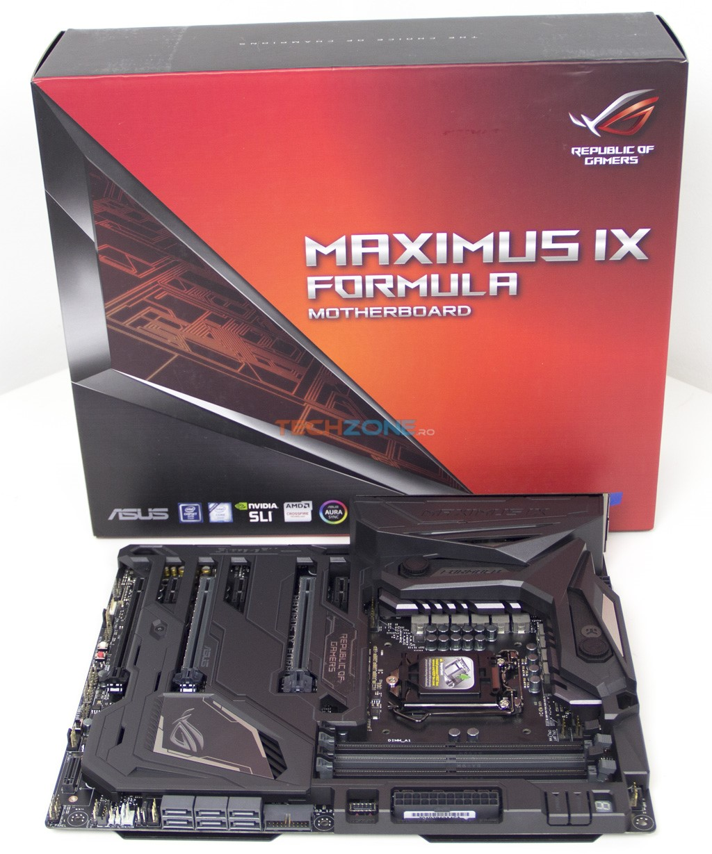 Asus Maximus IX Formula set