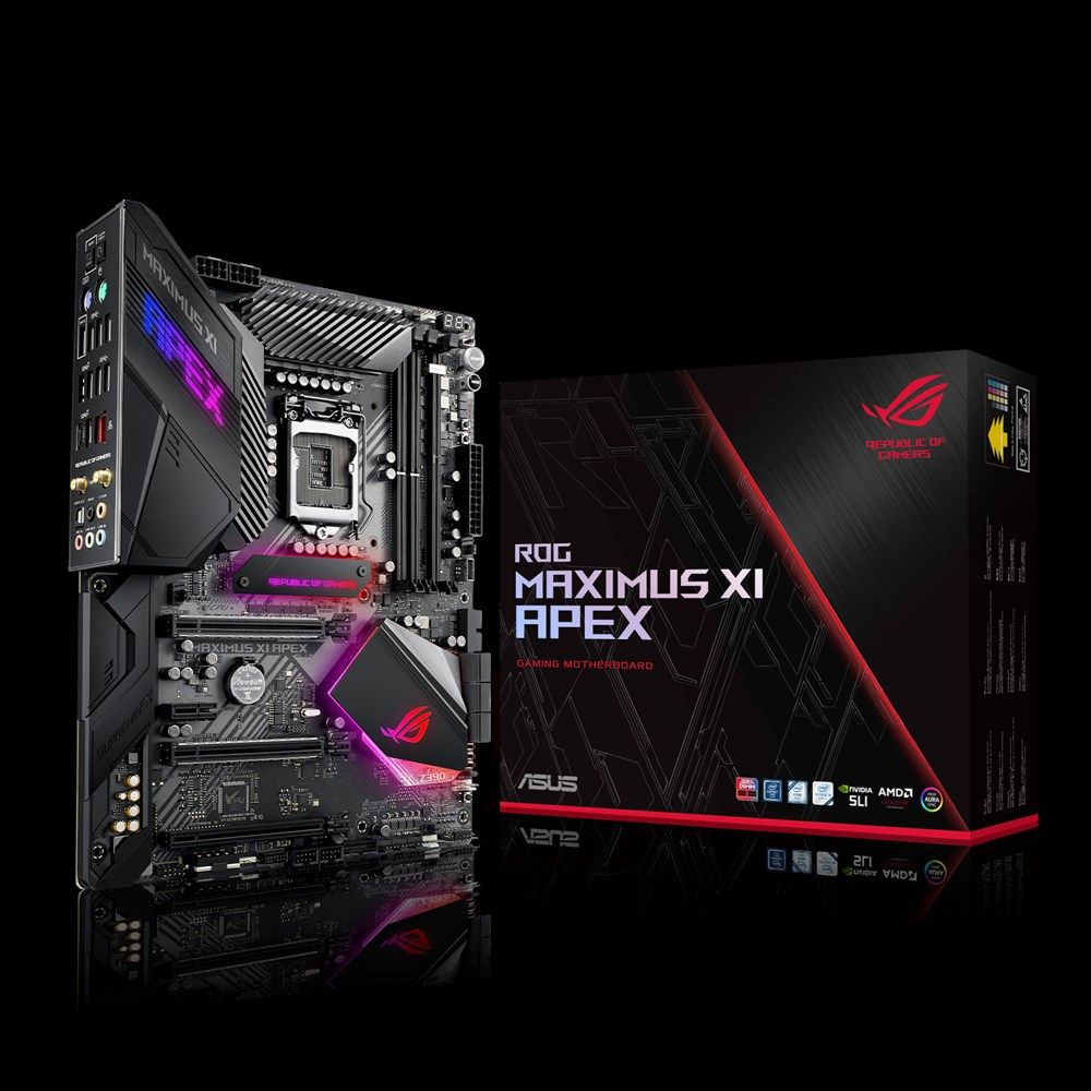 Asus Maximus XI Apex set
