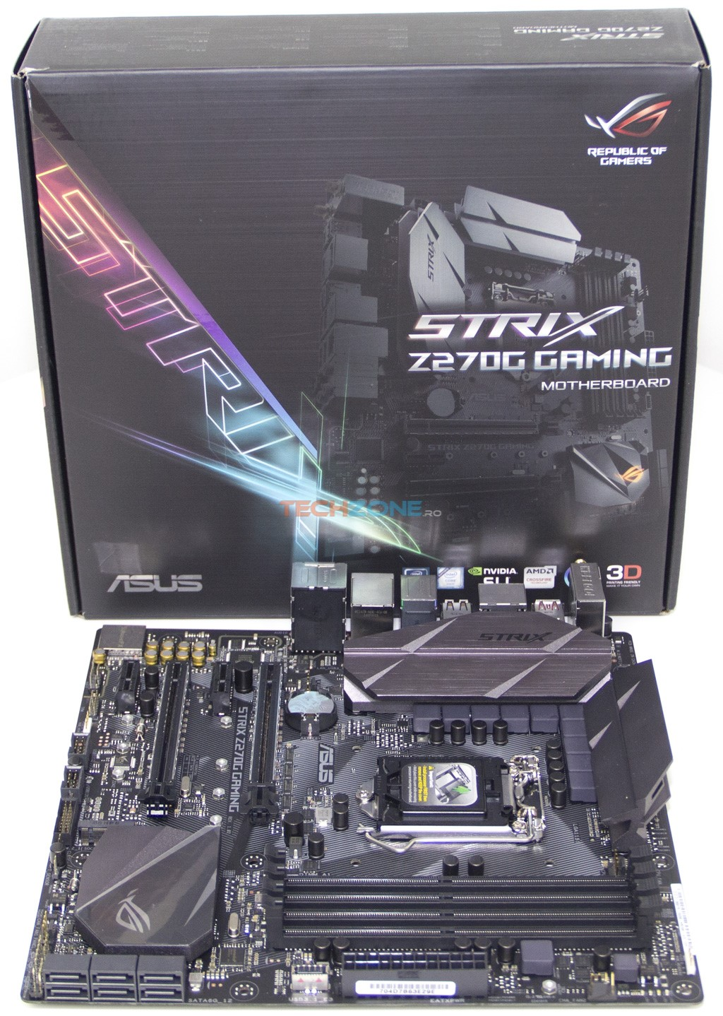 Asus Strix Z270G set