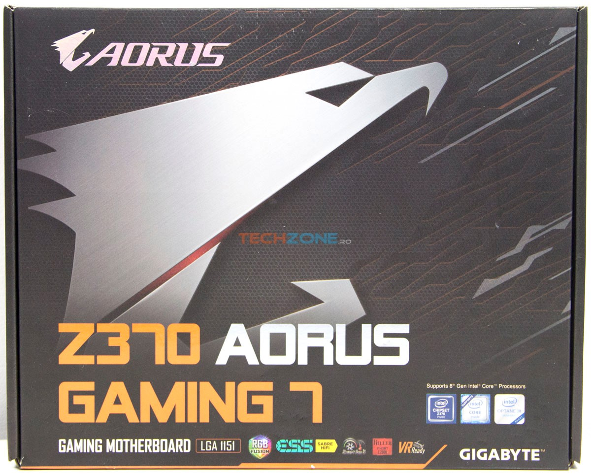 Gigabyte Z370 Gaming7 box