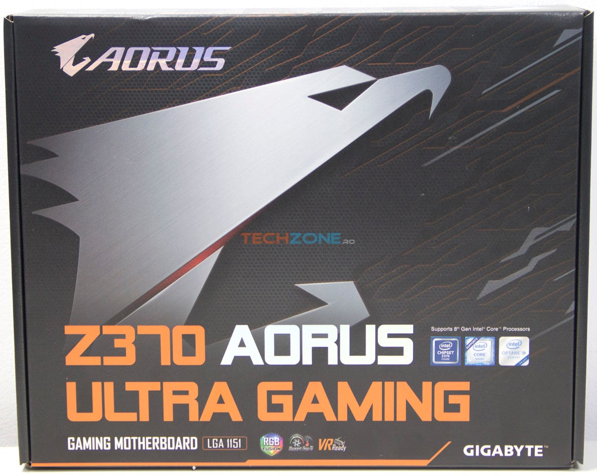 Gigabyte Z370 Ultra Gaming set