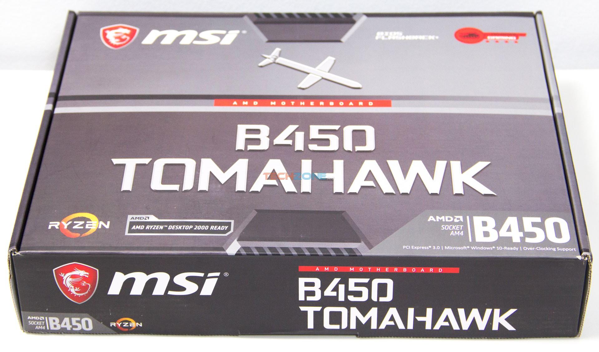 MSI B450 Tomahawk set