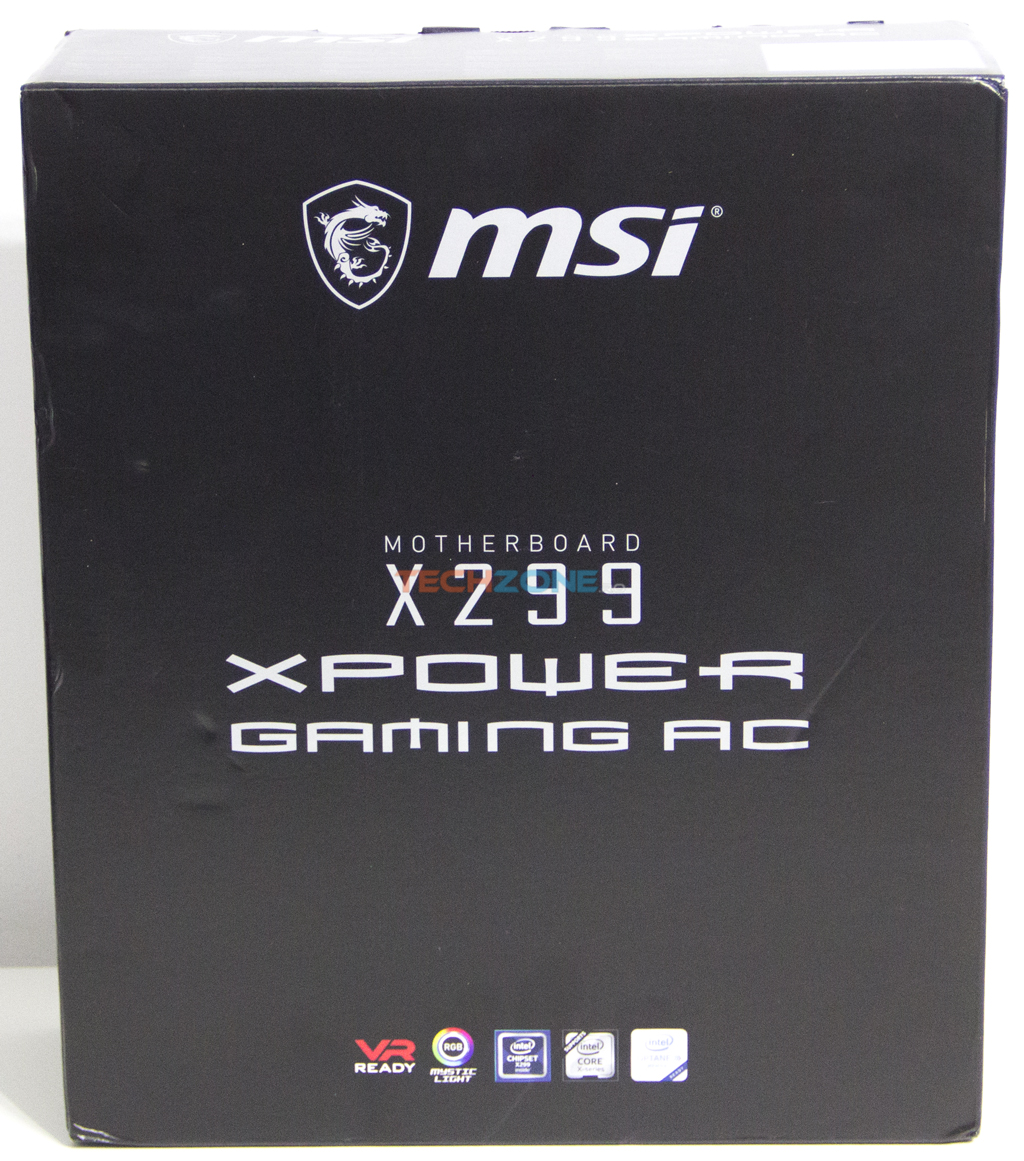 MSI X299 XPower set