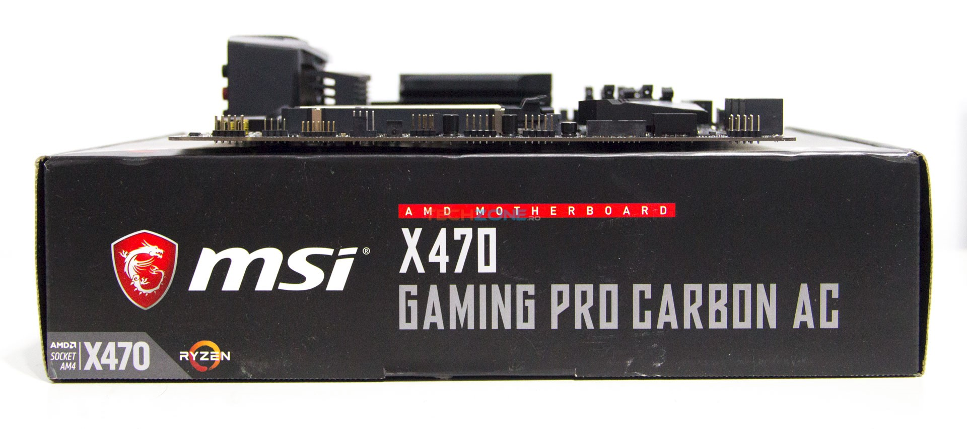 MSI X470 Gaming Pro Carbon AC set