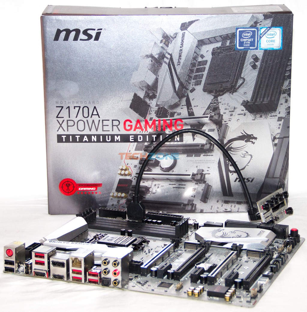 MSI Z170A XPower Titanium set