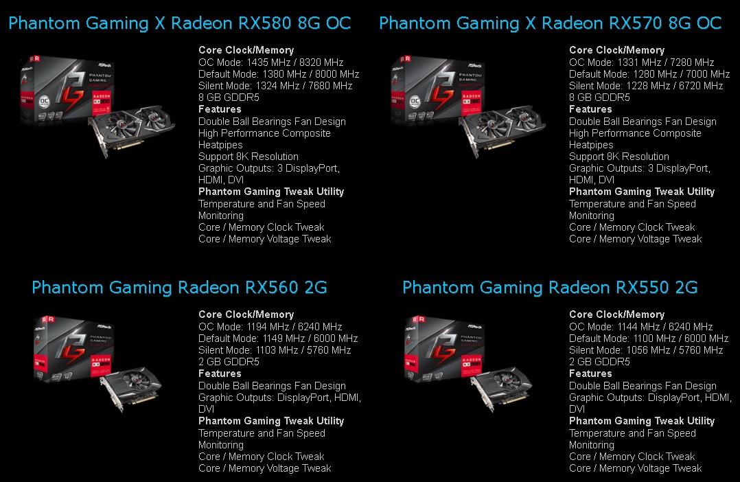 ASRock Phantom Gaming placi
