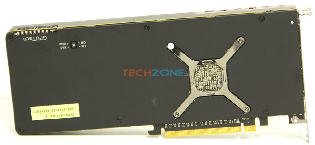 AMD Vega56 backplate