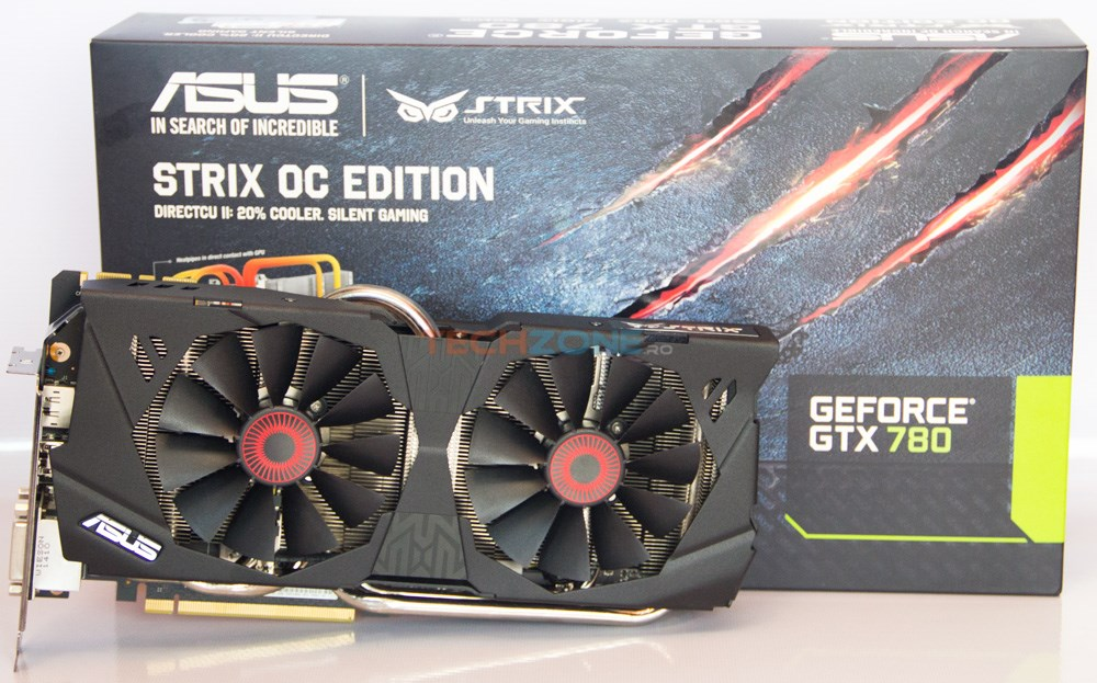 Asus Strix GTX 780 OC set