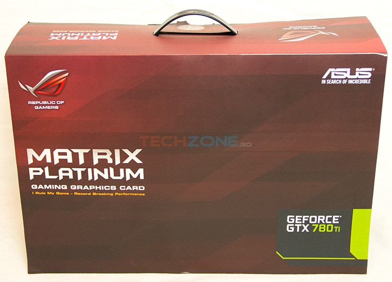 Asus GTX 780 Ti Matrix Platinum box
