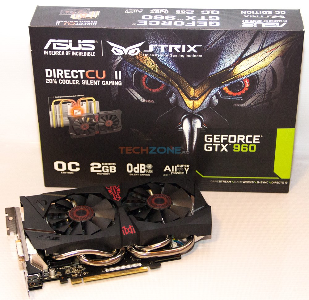ASUS GTX 960 Strix set