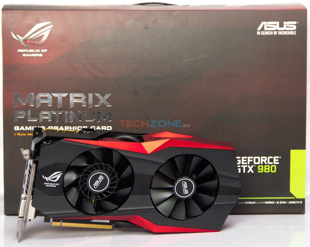 Asus GTX 980 Matrix P set