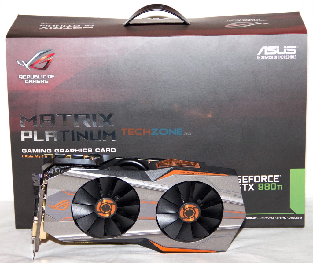 Asus 980 Ti Matrix set