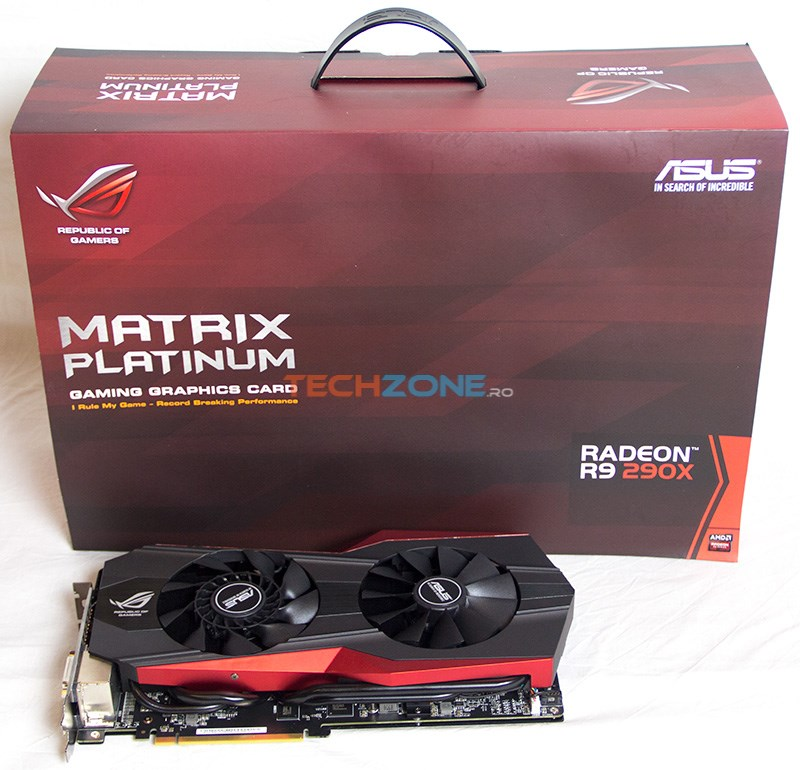 Asus R9 290X Matrix Platinum set