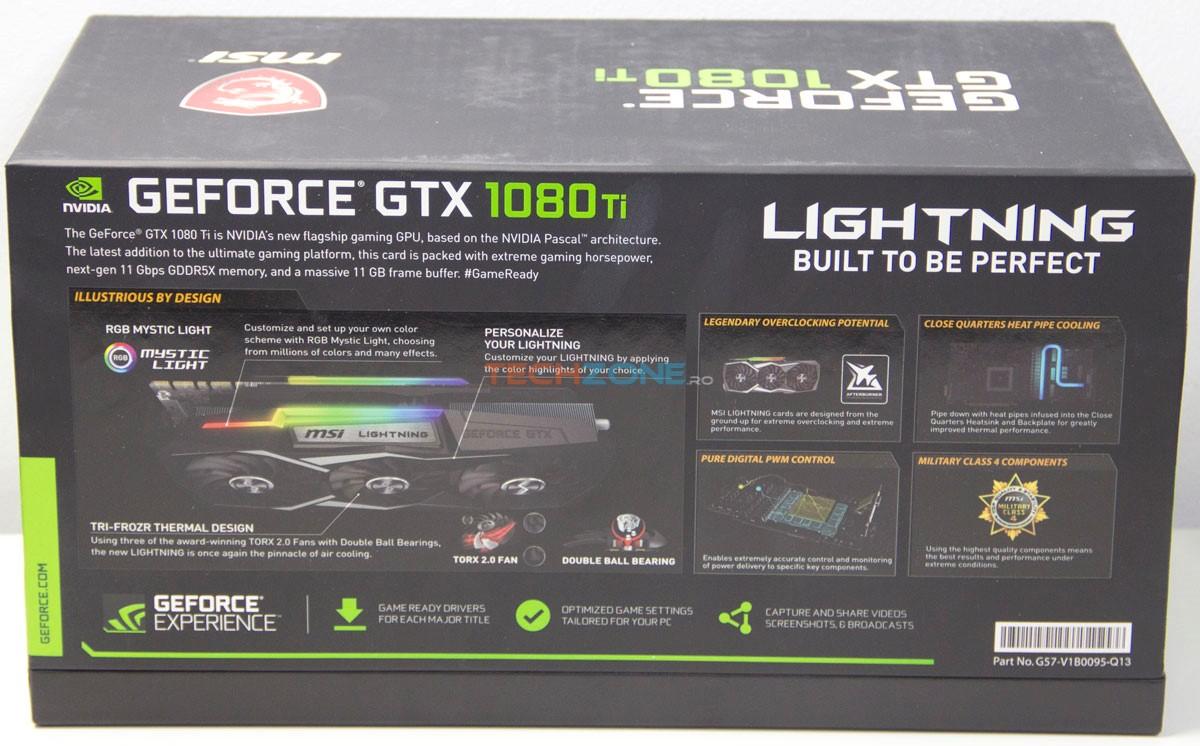 MSI GTX 1080Ti Lightning Z box back