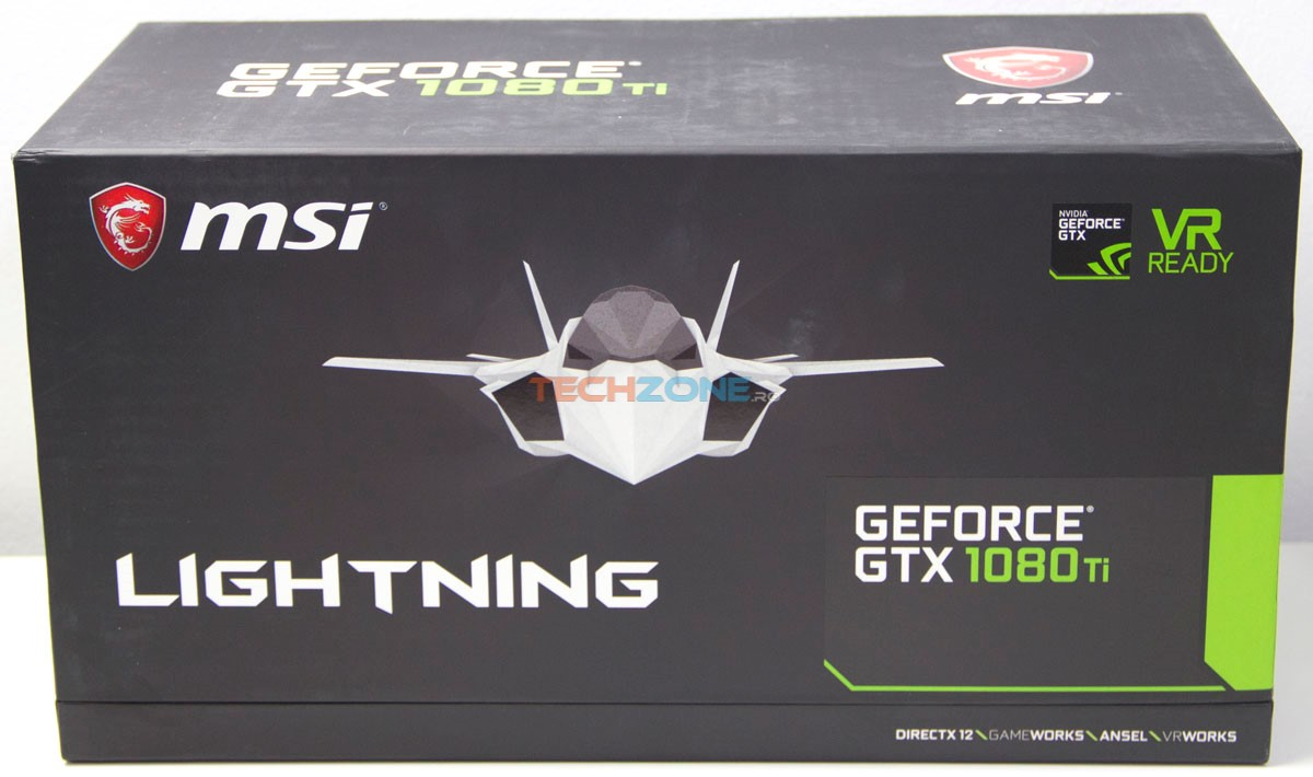 MSI GTX 1080Ti Lightning Z box