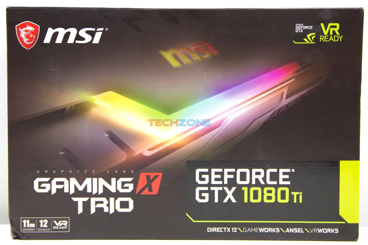 MSI 1080Ti Trio box