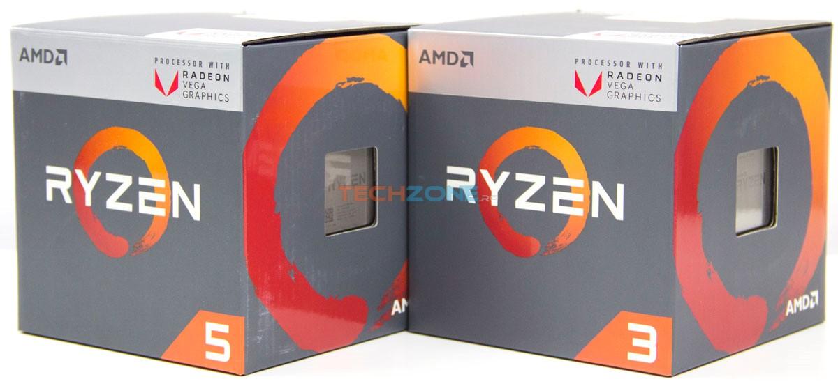 Ryzen Vega APU set