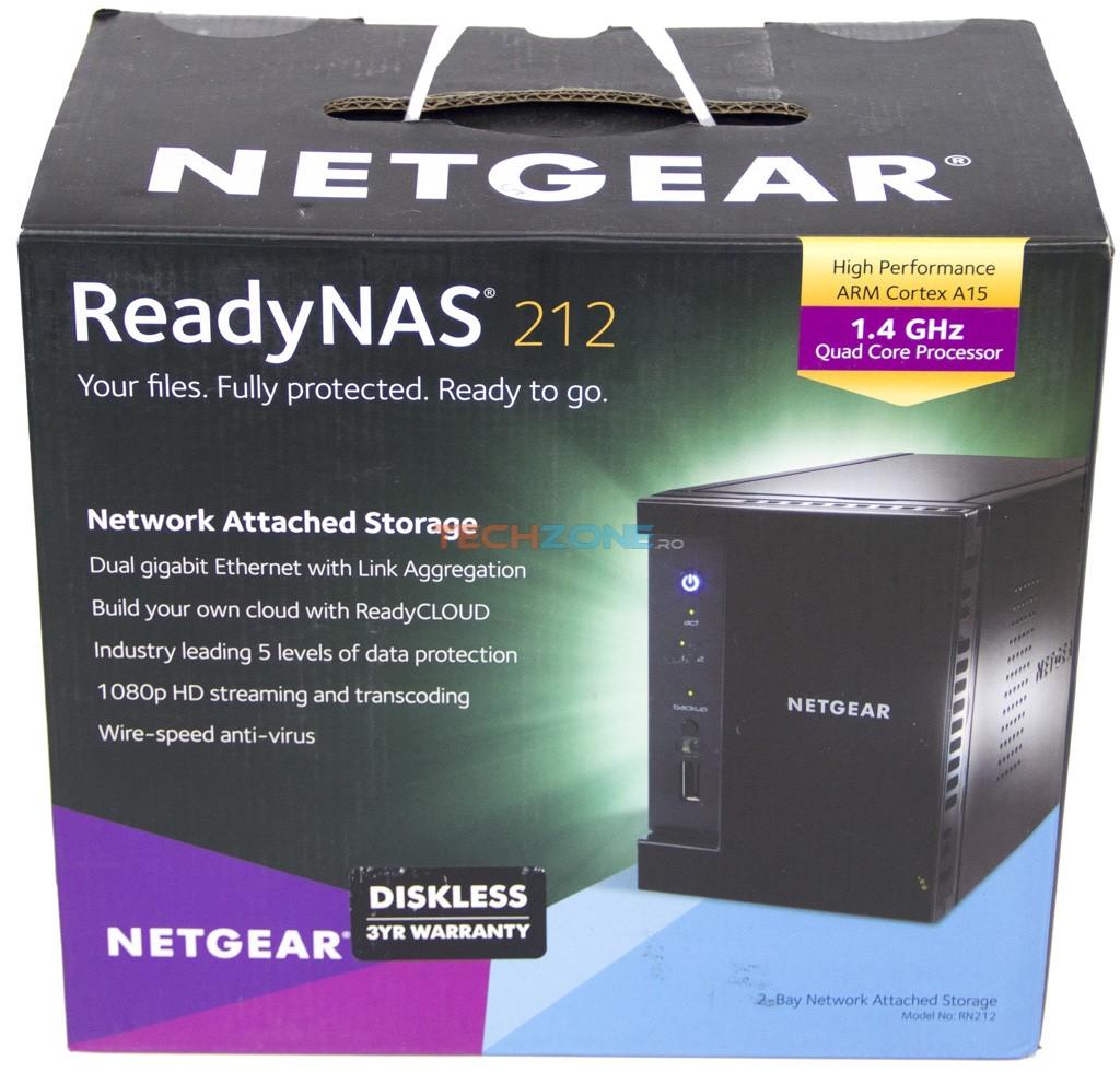 NetGear ReadyNAS 212 set
