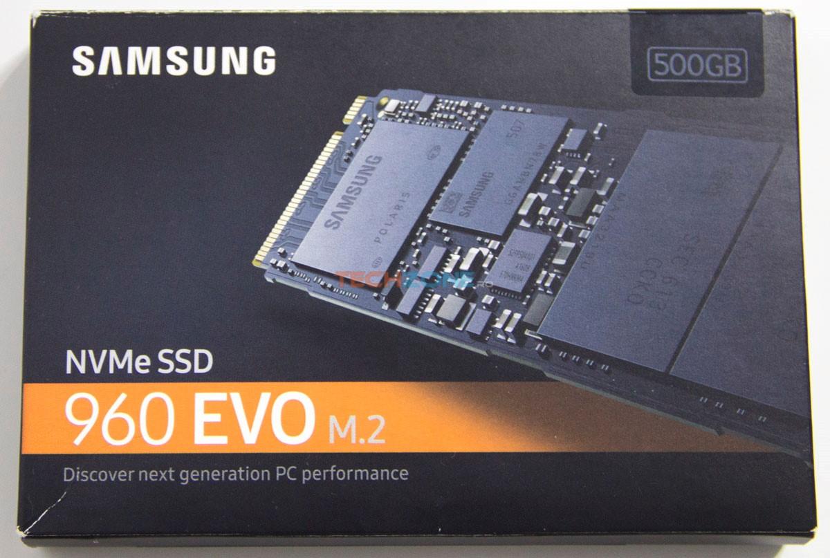 Samsung 960 Evo box