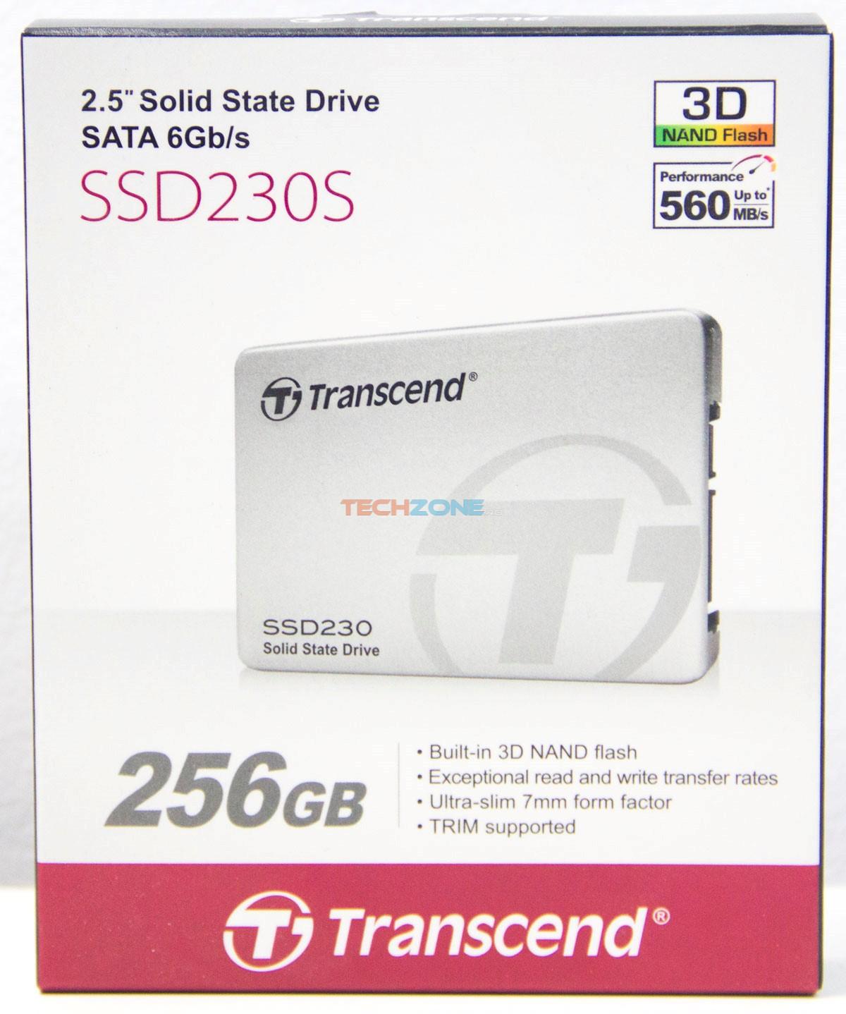 Transcend SSD230S box